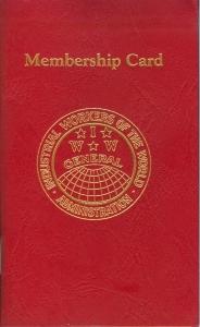 The IWW Membership Card, or Red Card